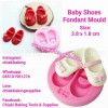 Baby Shoes Fondant Mold